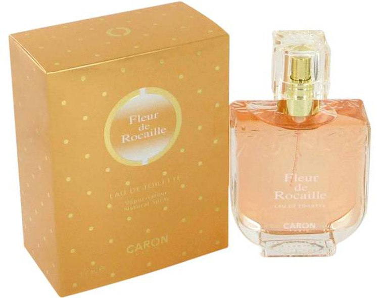 Fleur De Rocaille Perfume for Women by Caron Edt Spray 3.3 oz