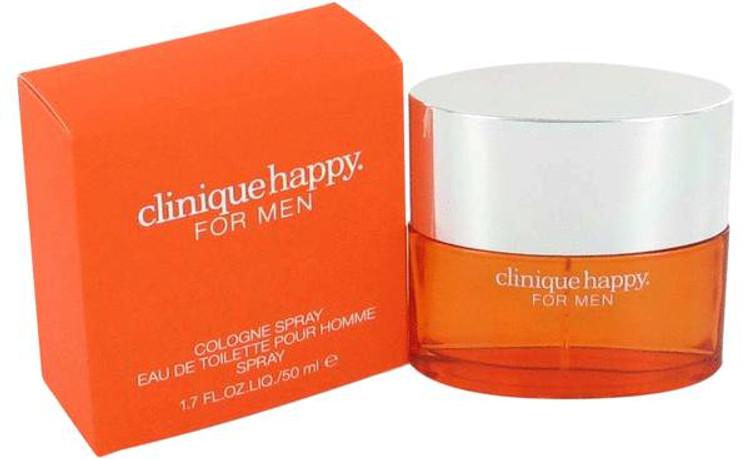 Happy Cologne Mens by Clinique Edc Spray 3.4 oz