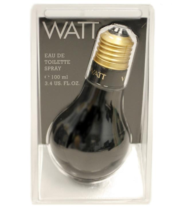 Watt Black Cologne Mens by Cofinluxe Edt Spray 3.3 oz