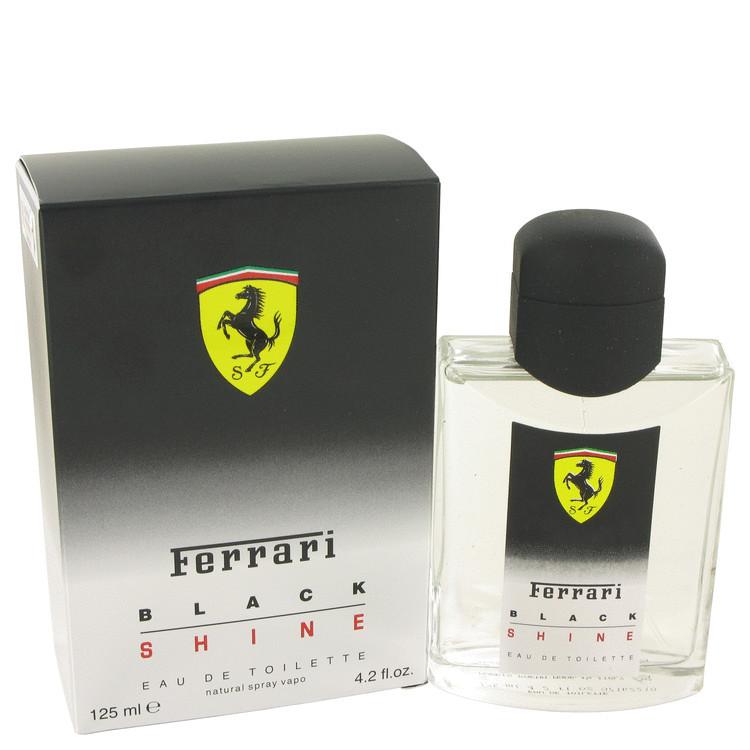 Black Shine  Cologne for Men by Ferrari Edt Spray 4.2 oz