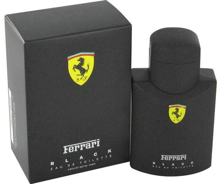 Ferrari Black Cologne for Men by Ferrari for Men Edt Spray 2.5