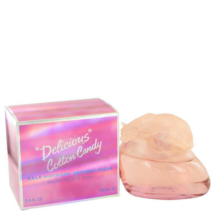 Delicious Cotton Candy Women Perfume by Gale Hayman Edt Spray 3.4 oz