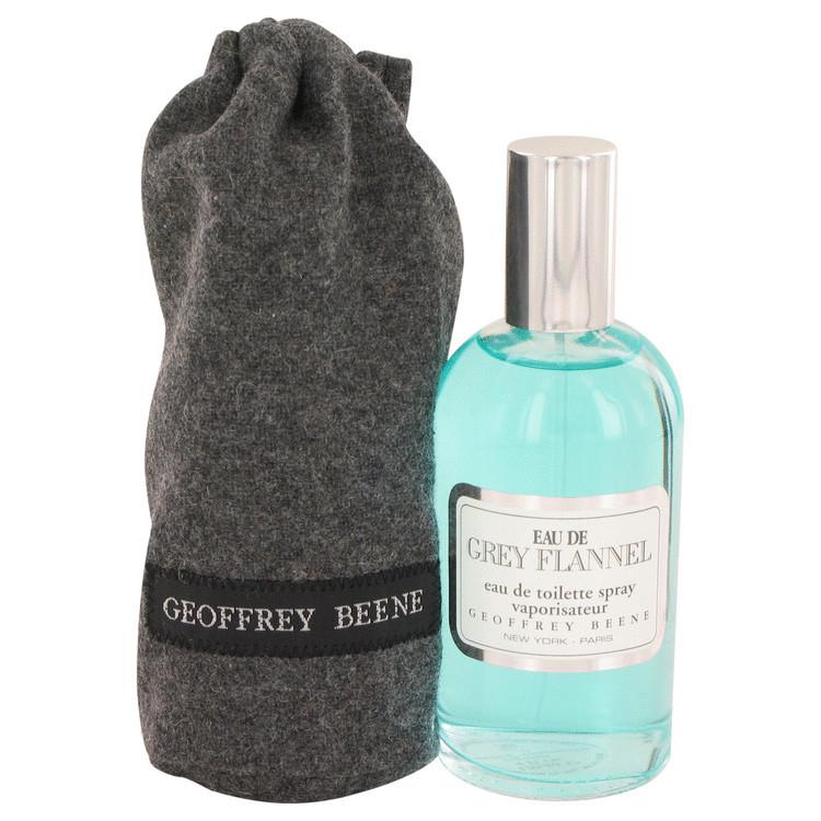 Eau De Grey Flannel Mens Cologne by Geoffrey Beene Edt Spray 4.0 oz