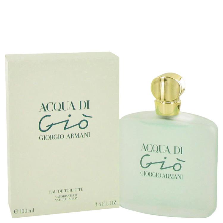 Acqua Di Gio for Women  Perfume by Giorgio Armani Edt Spray 3.4 oz