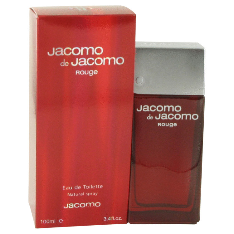 Jacomo De Jacomo Rouge Cologne by Jacomo for Men Edt Spray 3.4 oz