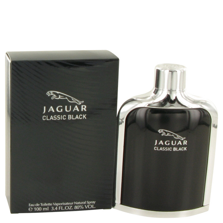 Jaguar Black for Mens Fragrance by Jaguar Edt Spray 3.4 oz