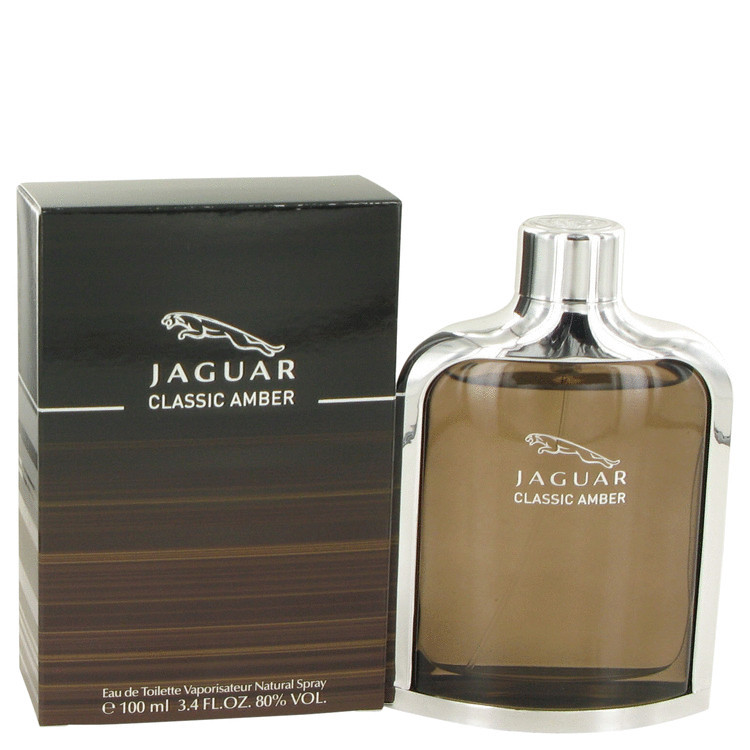 Jaguar Amber for Men Cologne by Jaguar Edt Spray 3.4 oz