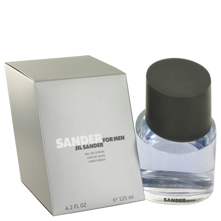 Sander Fragrance by Jil Sander for Men Edt Spray 4.2 oz