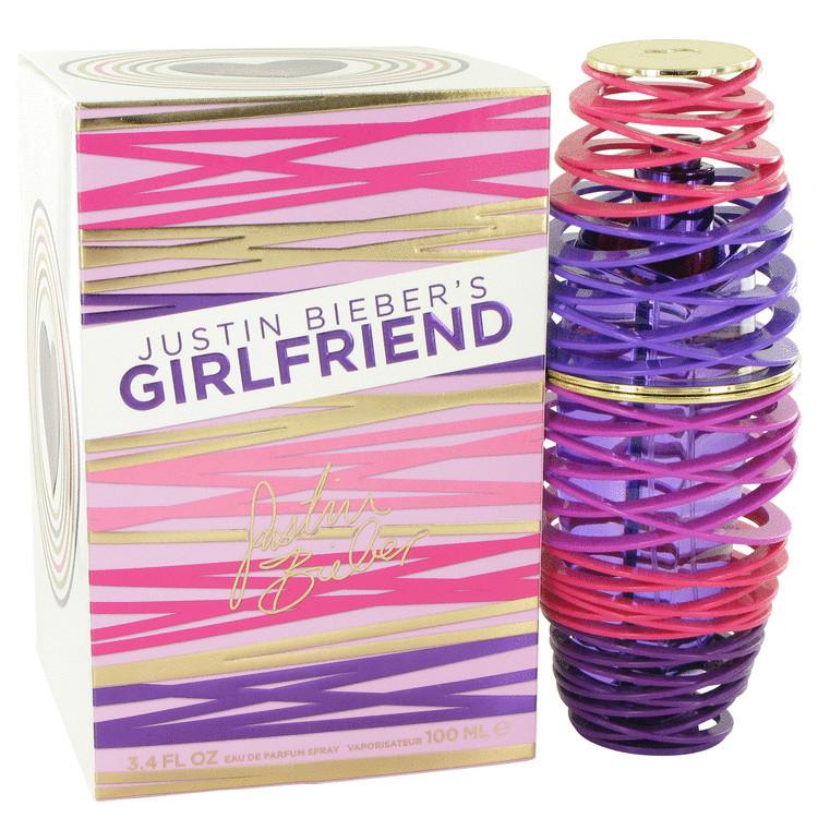 Girlfriend for Women Perfume by Justin Bieber Edp Spray 3.4 oz