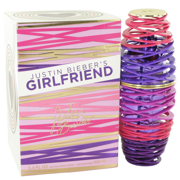 Girlfriend Perfume for Women by Justin Bieber Edp Spray 3.4 oz