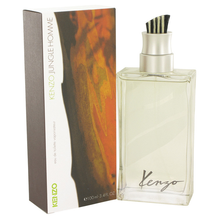 Jungle Mens Cologne by Kenzo Edt Spray 3.4 oz