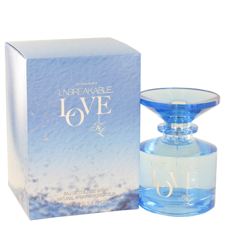 Unbreakable Love for Women Perfume by Khloe and Lamar Edt Spray 3.4 oz