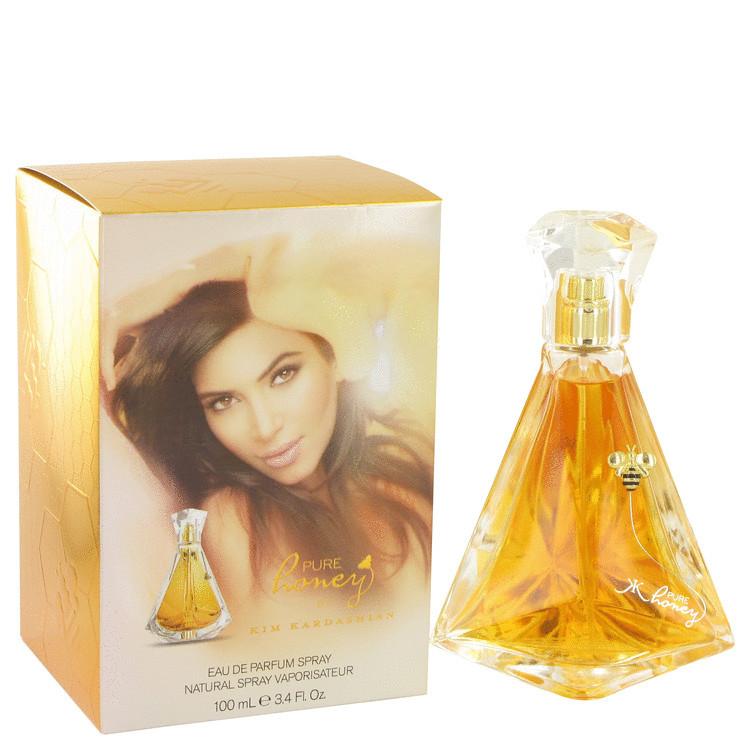 Kim Kard. Pure Honey Women Perfume by Kim Kardashian Edp Spray 3.4 oz
