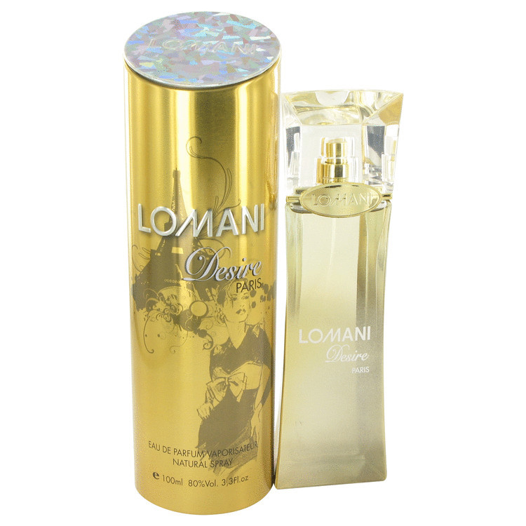 DESIRE By Lomani For Women 3.3oz EDP SP