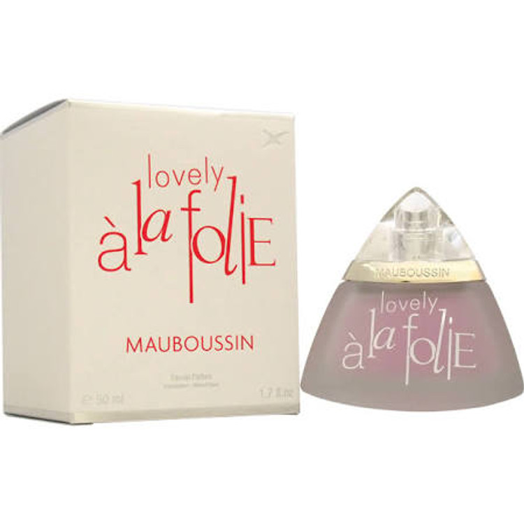 A La FOLIE LOVELY by Mauboussin Womens 1.7oz EDP SP