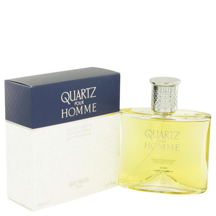 Molyneux's Quartz Por Homme for Men Edt Spray 3.4 oz