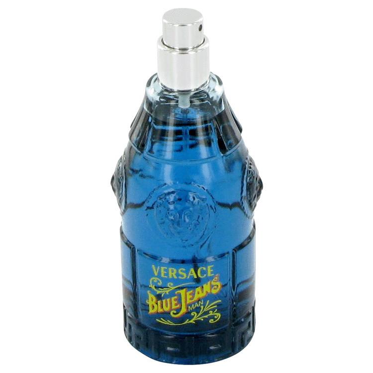 BLUE JEAN Mens Fragrance by Versace Edt Spray 2.5 oz