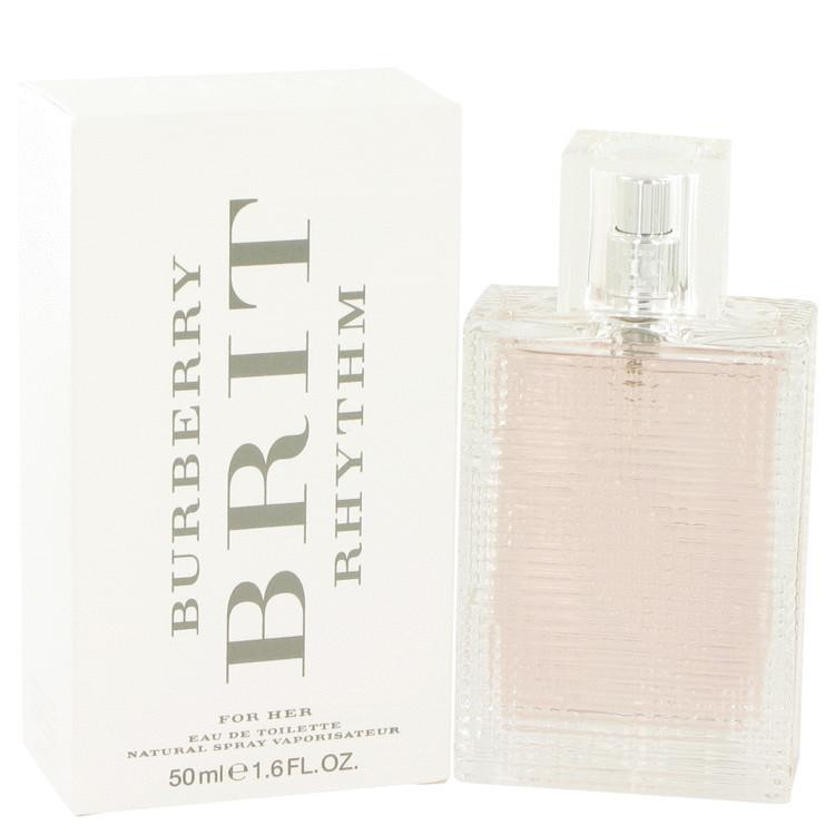 Brit Rhythm Perfume for Women by Burberry Edt Spray 1.7 oz