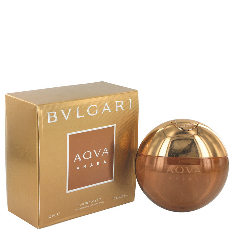 Aqua Amara Cologne for Men by Bvlgari Edt Spray 1.7 oz
