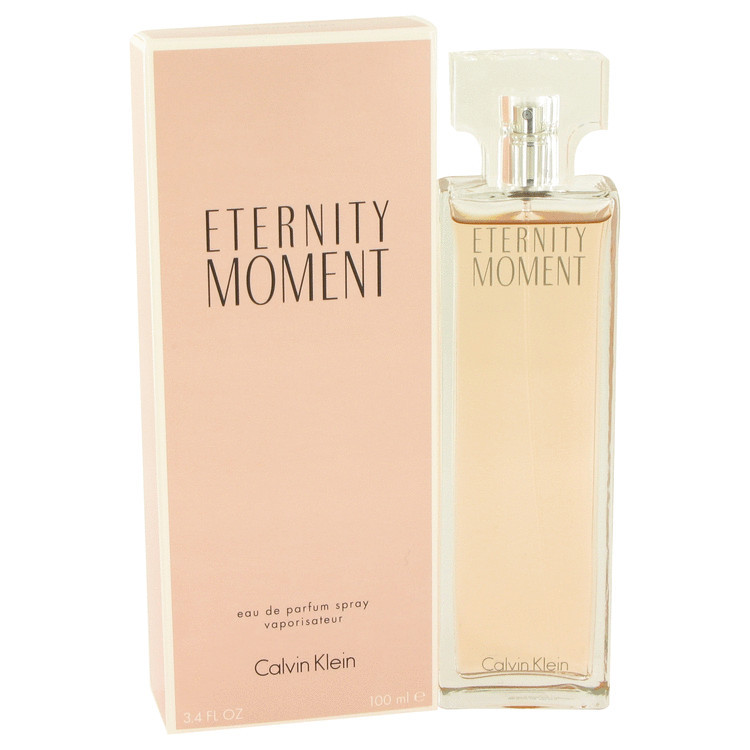 Womens Eternity Moment by Calvin Klein Edp Spray 3.4 oz