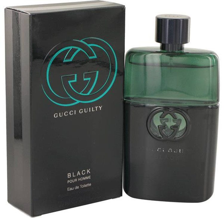 Gucci Guilty Black Cologne By Gucci For Men Edt Spray 1.0 oz