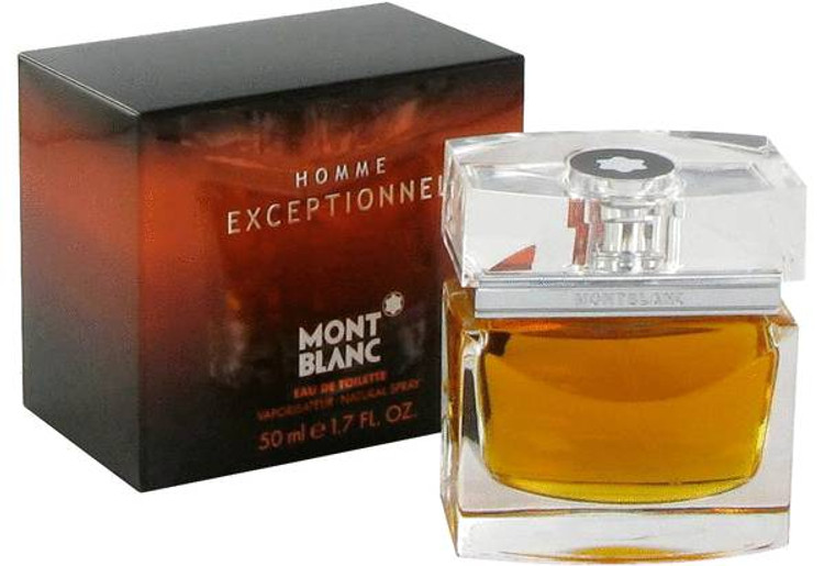 Homme Exceptional Cologne By Mont Blanc Mens Edt Spray 1.7 oz