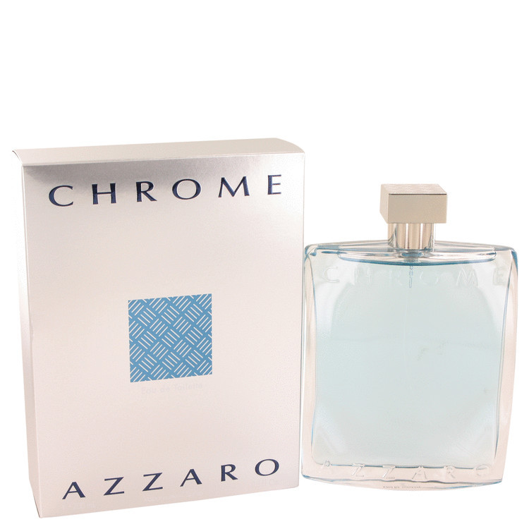 Azzaro Chrome Cologne by Azzaro for Men Edt Spray 6.8 oz