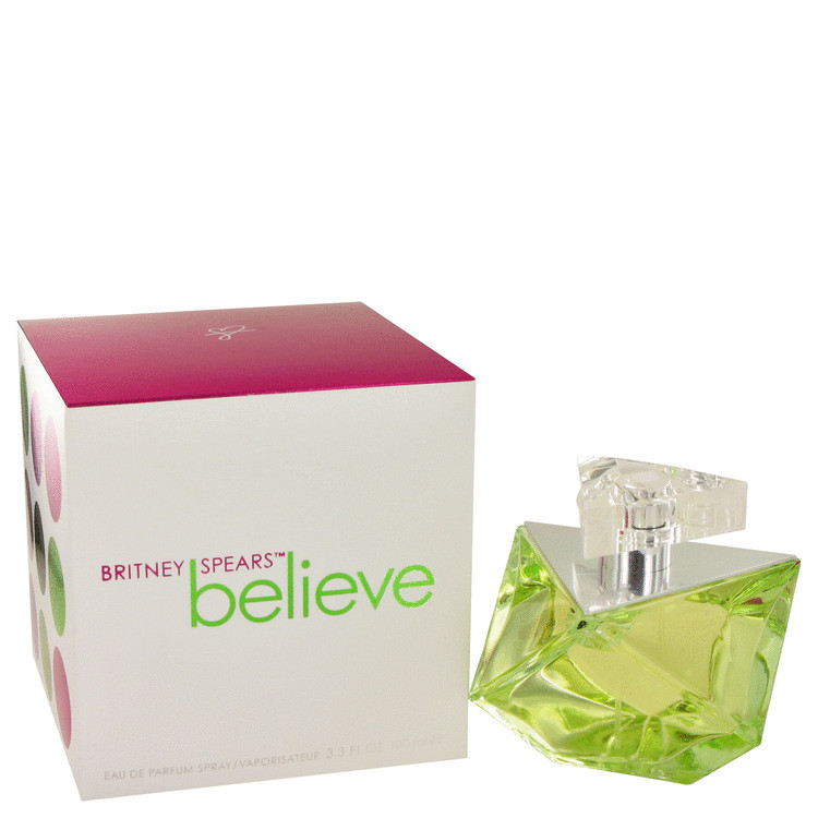 Believe Perfume by Britney Spears for Women Edp Spray 3.4 oz