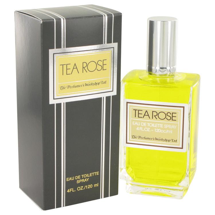 Tea Rose Womens Perfume by Perfumer's Workshop Edt Spray 4.0 oz
