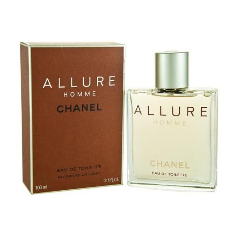 Chanel Allure Eau De Toilette Spray 100ml/3.4oz