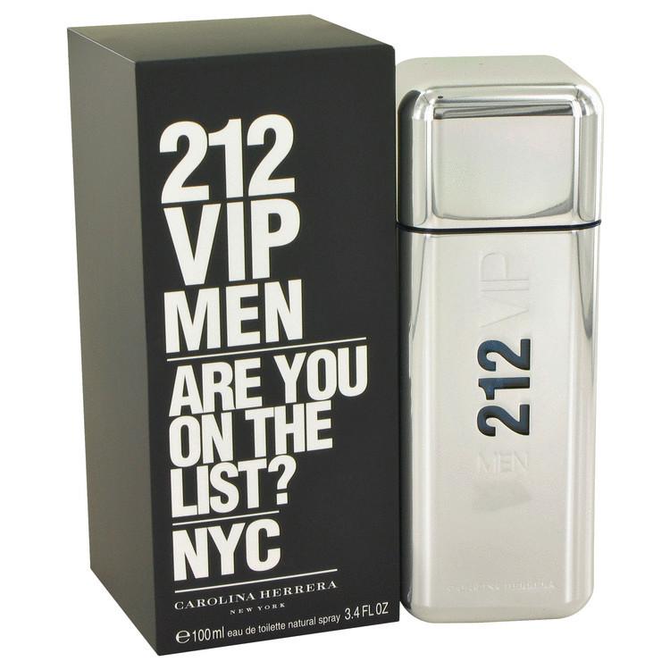 Men 212 VIP by Carolina Herrera 3.4 oz Edt
