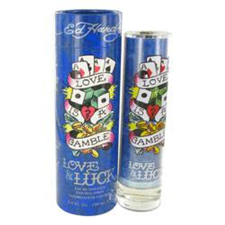 Ed Hardy Love & Luck Fragrance For Men by Christian Audigier  Edt Spray  3.4oz EDT Spray Tester