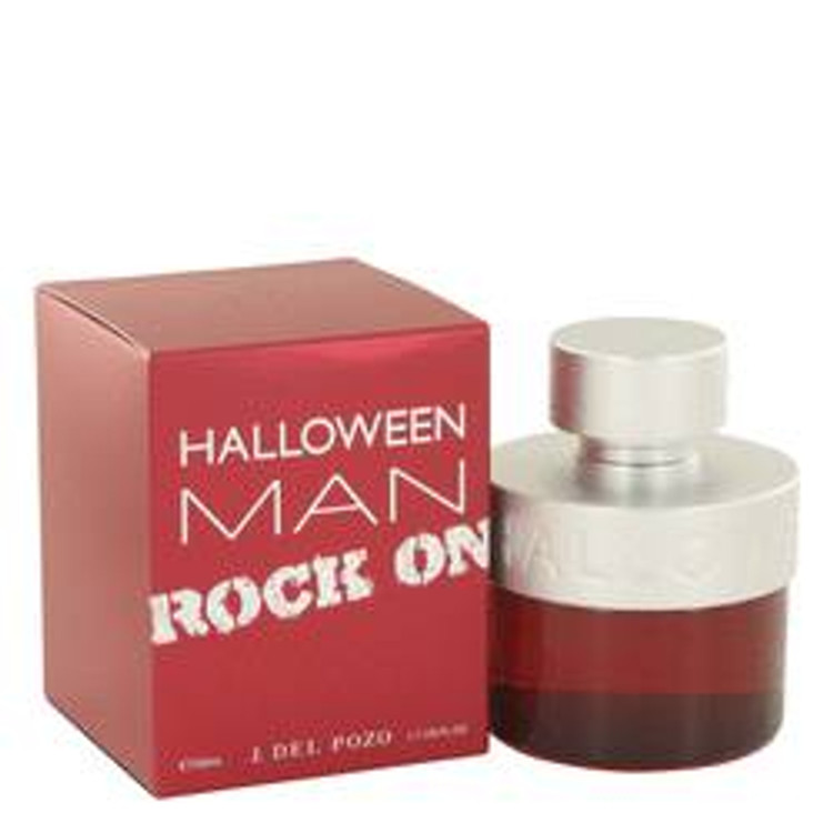 Halloween Rock by J. Del Pozo Men's Edt Spray 1.7oz