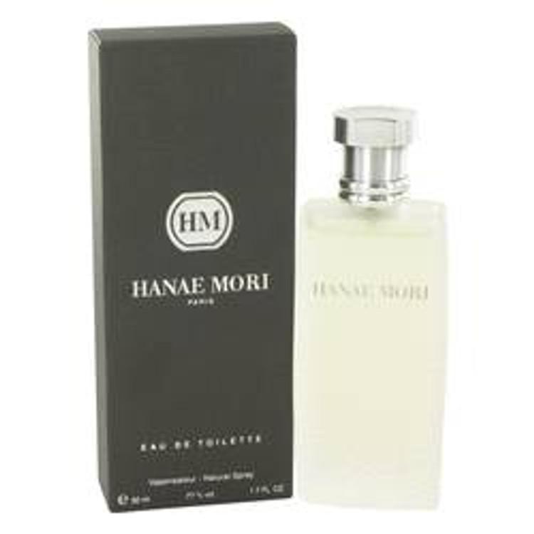 Hanae Mori by  Hanae Mori For Men's Edt Spray 1.7oz