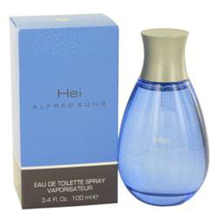 HEI  Men's Cologne By Alfred Sung  Edt Spray 3.4oz