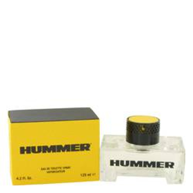 Hummer Fragrance  by Hummer  Mens Edt Spray 4.2 oz