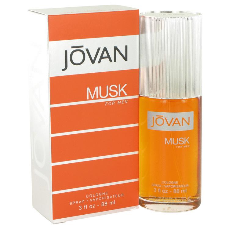 Musk Mens Fragrance by Jovan 3.0oz Edc Spray