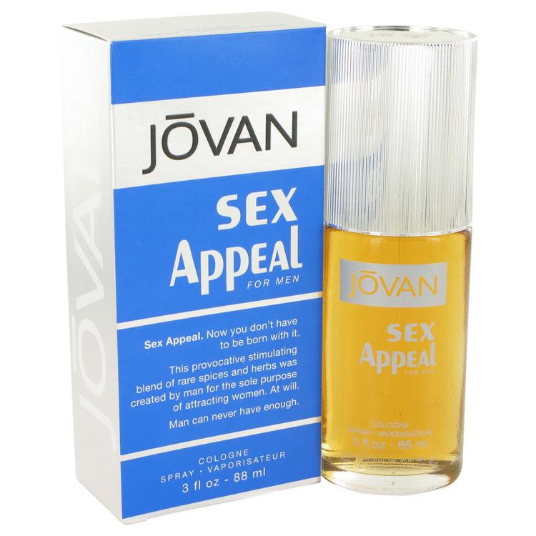 Sex Appeal Cologne for Men By Jovan 3.0oz Edc Spray
