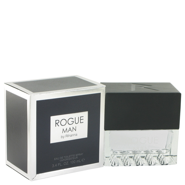 Rihanna Rogue Man Cologne For Men Edt Spray 3.4oz