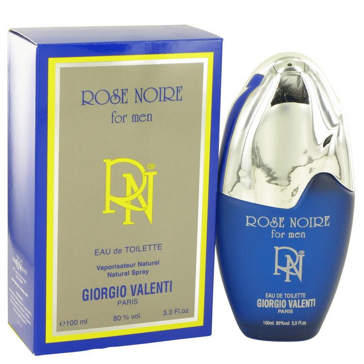 Rose Noire Fragrance for Men Edt Spray 3.4oz