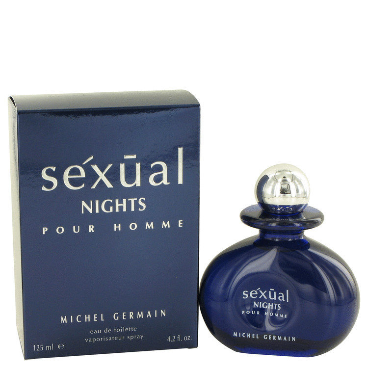 Sexual Night Cologne For Men Edt Spray 4.2oz