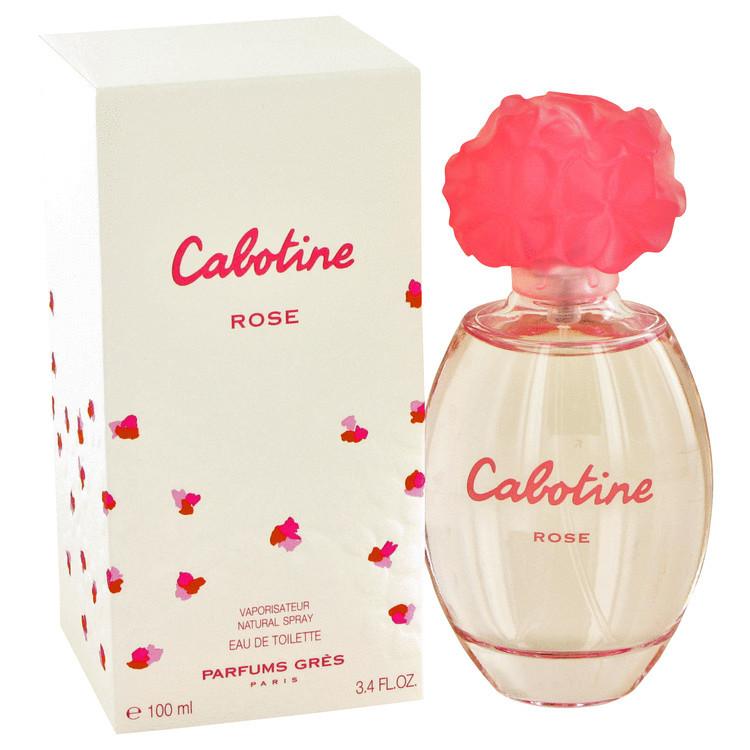 Cabotine Rose By Gres Womens Edt Spray 3.3 oz