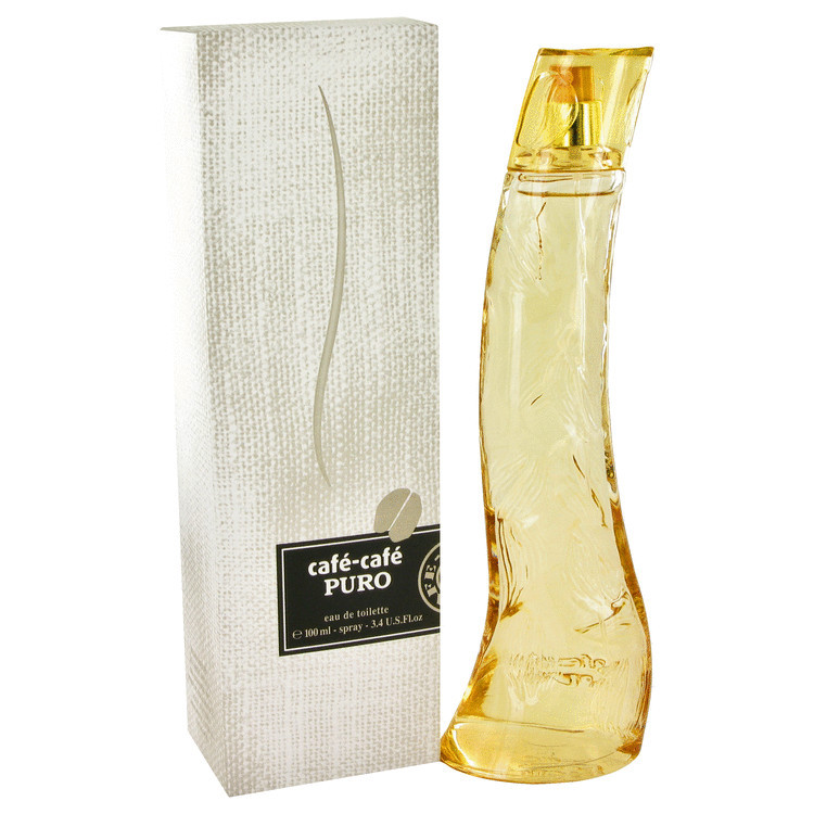Cafe Cafe Puro Womens by Cofinluxe Edt Spray 3.4 oz