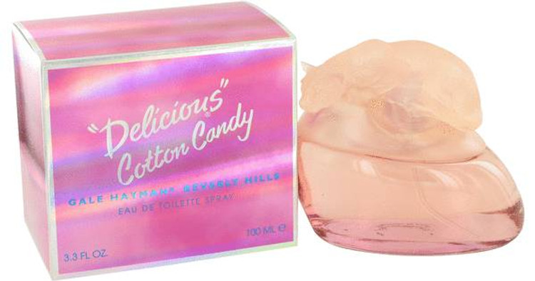 Delicious Cotton Candy by Gale Hayman Edt Sp 3.4 oz