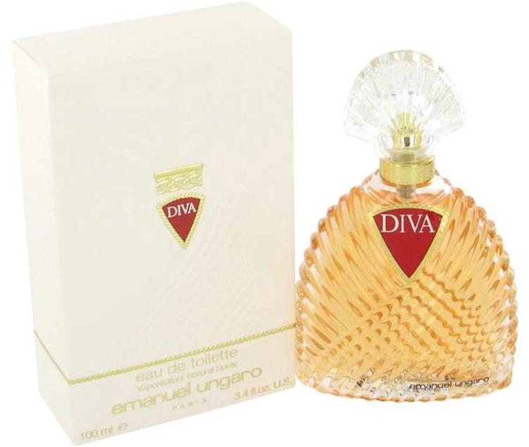 Diva Pepite For Women by Emanuel Ungaro Edp Sp (New) 3.4 oz