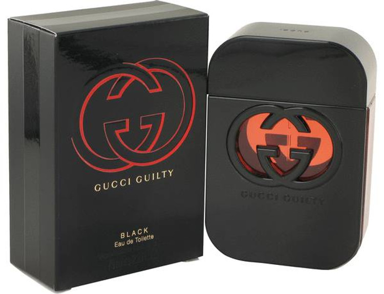 Gucci Guilty Black For Women by Gucci Edt Sp 2.5 oz