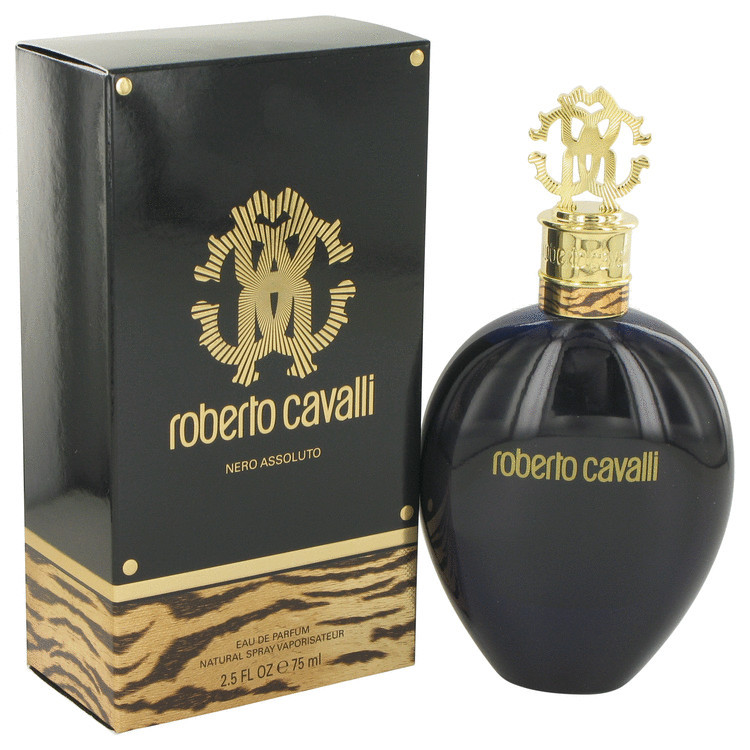 Nero Assoluto Fragrance by Roberto Cavalli For Women Eau De Parfum Spray 2.5 oz