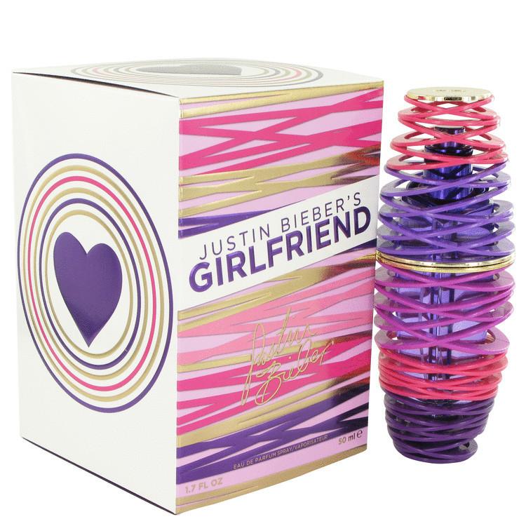 Girlfriend Fragrance by Justin Bieber For Women's Edp Spray 1.7 oz