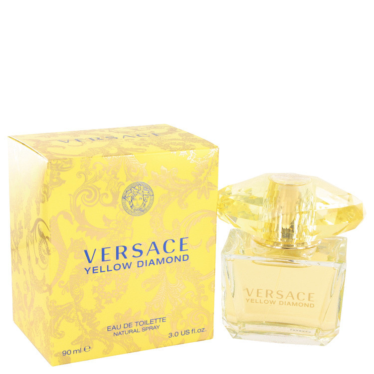 Versace Yellow Diamond 3.0oz Edt Sp for Women