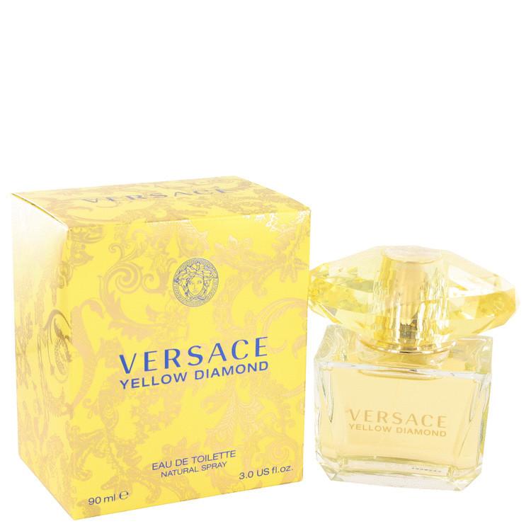 Versace Yellow Diamond 3.0oz Edt Sp Fragrance for Women